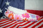 "Snoozies! Floral ""betty"" Fleece Slippers Size 8-9: Shoes/sleep/lounge/moccasin"