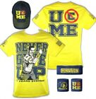 John Cena Kids Yellow Ten Years Strong Costume Hat T-shirt Wristbands Boys