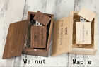 Carved Wooden Box Photography Personal Custom Wedding Wood USB 2.0 Flash Drive