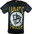 Dean Ambrose Lunatic Fringe WWE Mens Black T-shirt