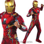 CK674 iron Man Civil War Captain America Hero Avengers Fancy Dress Boys Costume