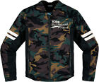 Icon 1000 Oildale Conscript Camo Motorcycle Riding Textile Jacket Adult S-4XL
