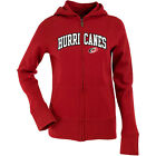 Antigua Women's Carolina Hurricanes Signature Hood Applique Full-Zip Sweatshirt