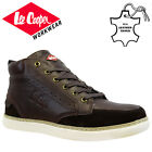 MENS LEE COOPER LEATHER SAFETY WORK BOOT STEEL TOE CAP SHOES TRAINER HIKER SIZE