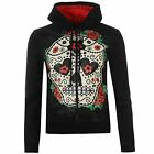 MODA Banned Sugar Hoody Donna Red Roses