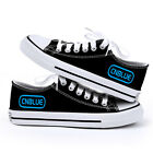 CNBLUE C.N.BLUE BOICE BLACK CANVAS SHOES NEW