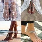 Lot Fashion Sexy Anklet Chain Ankle Bracelet Foot Jewelry Barefoot Sandal