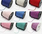 10/100  yard roll of 1.8*2.8mm Beads on a String For Diy Craft Various Colors