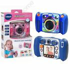 VTECH KIDIZOOM DUO DIGITAL CAMERA 2MP 4 X ZOOM BLUE & PINK KIDS FUN FREE P+P