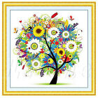 5D DIY Four Seasons Tree Diamonds Embroidery Diamond Painting Cross Stitch Kits