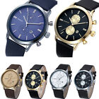 Luxury Men Watch Military Waterproof Watch Date Leather Casual Dress Watch Gift