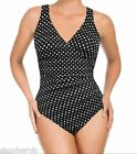 Miraclesuit Womens One Piece Side Shirred Bathing Suit Swimsuit 6/8/10/12/14/16
