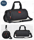 Men Women Nylon Gym Bag Handbag Shoulderbag 2 In 1 Daypack Sports Bag Luggage