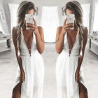 Sexy Womens Summer Dresses Sexy V Neck Party Dress Beach Cocktail Vestido Robed