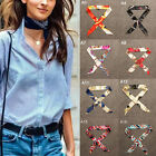 Silk Twilly Mini Scarf Long Ribbon for Tied Neck Choker Necklace Women Ladies