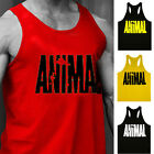 Strong Mens Letters Print Muscle Vest Tank Top Gym Sport Bodybuilding Shirts RE