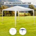 3x3m White/Blue Portable Outdoor Waterproof Garden Gazebo Canopy Tent Shade BBQ