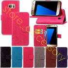 Unisex Hot Selling Four Leaf Clovers Flip PU Leather+Strap Case Cover For Phones