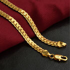 CHIC Women Men Fashion 18K Gold Plated Necklace Chain Jewellery New Unisex Gift