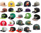 Nintendo / Super Mario Snapback Baseball Cap Flat Bill Adult Size New & Official