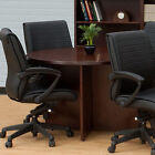 """ROUND MEETING CONFERENCE TABLE Boardroom Private Office Wood 36"""" 42"""" 46"""" Cherry"""