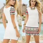CHIC Fashion Women Bandage Bodycon Sleeveless Evening Party Cocktail Mini Dress