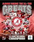 Alabama Crimson Tide 16X Football National Champions Photo SQ107 (Select Size)