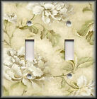 Light Switch Plate Cover - Roses On Cream Vintage Shabby Chic Home Decor Floral