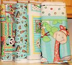 Bazooples Choo Choo Panel, Softbook & Coordinating Fabrics SOLD SEPARATELY bty