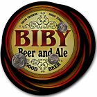 Beer Coasters 4pc Choose Name- Biby Boso Guck Lurz Shur Tole Bano Elmi Koke Todt