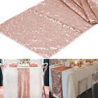 """12""""x108"""" Luxury Sequin Table Runner Wedding Party Bling Table Cover Decoration"""