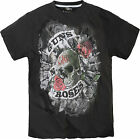 Guns and Roses Fashion T-Shirt by Replika sizes 2XL to 8XL