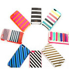 Cute Stripe Kate Spade PC+Bumper Hardshell Case Cover for iPhone 6 6 Plus 6S 6S+