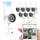 Funlux 720P IP 8 Outdoor Wireless IR Night Vision Home Security Camera System