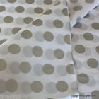 'Silver Spots' Premium Quality Patterned Tissue Paper Wrap 5 /10 sheets