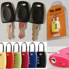 TSA 007 lock + key Security Lock Travel Luggage Key TSA Lock Key Bag Customs Key $12.21 USD