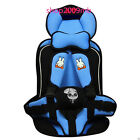 Safety Infant Child Baby Car Seat Seats Toddler Carrier Booster Pink/Blue/Grey