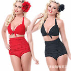 Sexy-Women-Bandage-Bikini-Set-Push-up-Bandeau-- waist Swimsuit-Swimwear-S-4XL