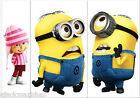 Mini Minions Despicable Me 810 Switch Wall Stickers Nursery Kids Decor Decals AU