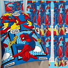"Spiderman Webhead Single Duvet & Matching Curtains 54"" or 72"" Drop Bed Set"