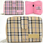 Ladies / Womens / Girls Large Checked / Tartan Style Bi-Fold Purse