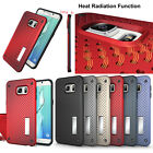 Anti shock heat radiation phone case cover with stand for Samsung S6 edge+/NOTE5