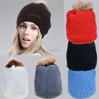 Women Lady Beret Knit Baggy Beanie Crochet Hat Ski Cap Fashion 6 colors K0E1