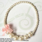 Pearl Beads Bowknot Chunky Bubblegum Beads Necklace Baby Girl Jewelry Gifts