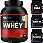 Optimum Nutrition ON 100% Gold Standard Whey Protein 5lb + FREE BCAA 250g