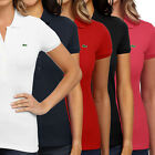Women's Lacoste Stretch Polo Pique Short Sleeve Ladies Slim Fit Golf Sport Shirt