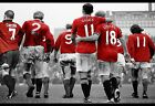 Manchester United Legends Giggs Best Cantona Large Canvas Picture Wall Art