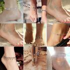 Women Sexy Crystal Anklet Ankle Bracelet Barefoot Sandal Beach Foot Chain