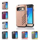 For Samsung Galaxy J1 mini (2016) Hard Case Bicolour Armour Rubber Plastic Cover