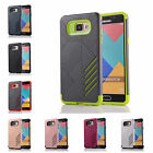 For Samsung Galaxy A3 (2016) A310F Hard Case Bicolour Armor Rubber Plastic Cover